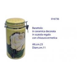 BARATTOLO DEC.ROSA 23X11