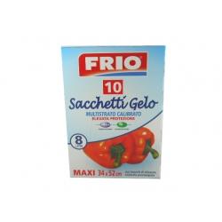 FRIO SACCHI GELO 10 PZ.-34x52