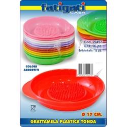 GRATTAMELA PLAST.TONDA CM.17